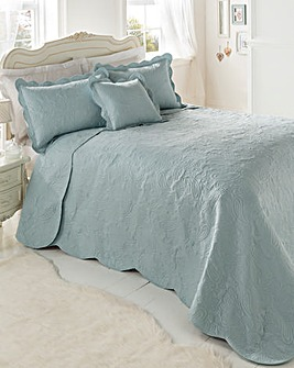 Bliss Embossed Throwover Set