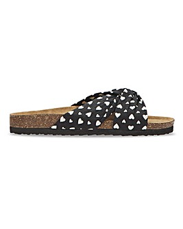 Jose Twist Front Sandal Extra Wide EEE Fit