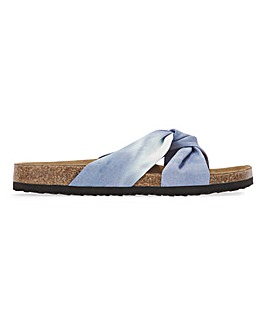 Jose Twist Front Sandal Wide E Fit