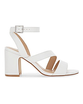 Brittany Heeled Sandals Extra Wide Fit