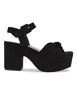 Rennes Platform Sandals Extra Wide Fit