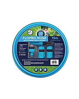 Flopro Flopro Hose 15m with Connectors