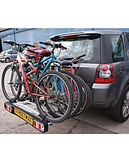 Titan Towball Cycle Carrier for 4 Bikes