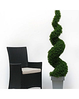Artificial Topiary Spiral
