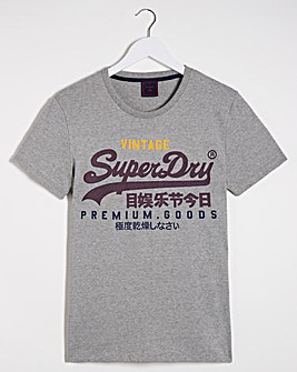 Superdry Vintage Label T-Shirt