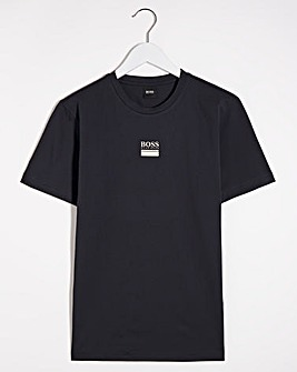 BOSS Metallic Logo Tee