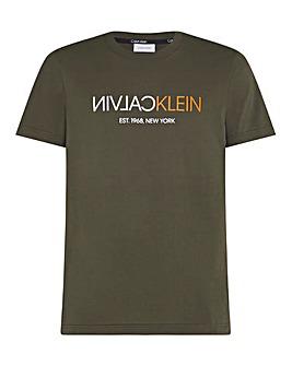 Calvin Klein Reverse Logo T-Shirt