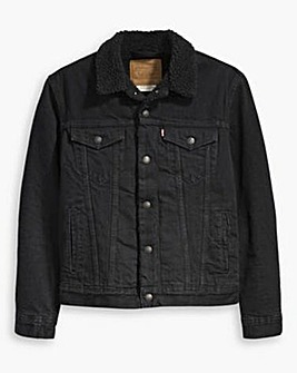 Levi's Big & Tall Sherpa Trucker