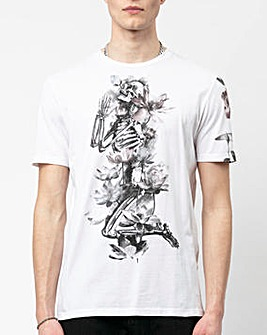 Religion Lotus Skelton T-Shirt Long