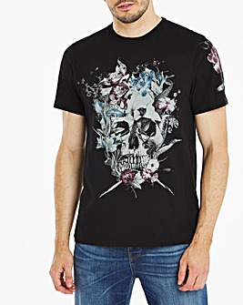Religion Skull Art T-Shirt