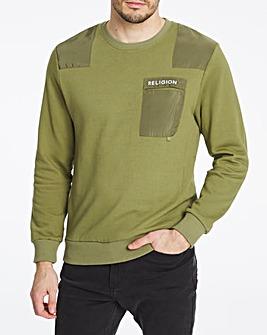 Religion Barrage Crew Sweatshirt