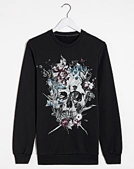 Religion Skull Art Sweatshirt