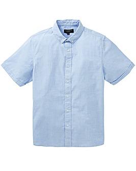 Flintoff By Jacamo Seersucker Shirt Long