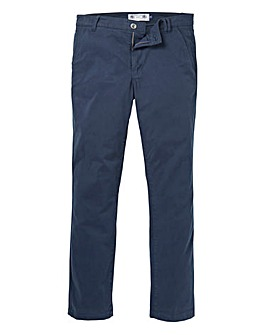 Flintoff by Jacamo Navy Chino 29in
