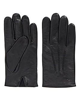 BOSS Griffin Leather Gloves