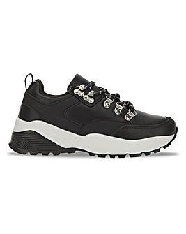 Hiker Chunky Trainers Extra Wide Fit