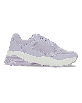Canberra Tonal Chunky Trainers Wide Fit