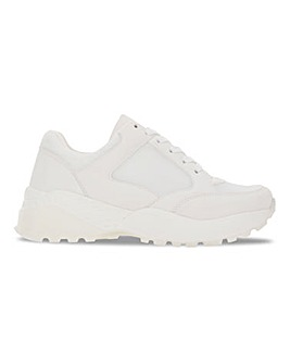 Canberra Tonal Chunky Trainers Extra Wide Fit
