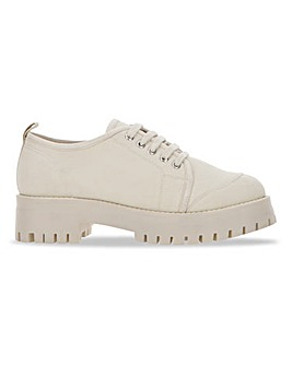 Rex Cleated Sole Utility Trainers Wide Fit