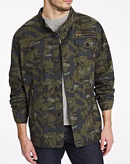 Joe Browns Camo Shacket