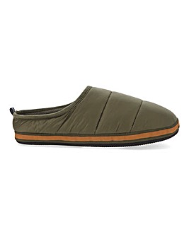 Jacamo Quilted Mule Slipper