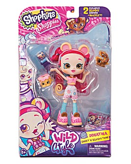 Shopkins Shoppies Doll - Donatina Monkey