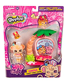 Shopkins Shoppets - Sweet Donut Swing