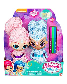 Shimmer & Shine Colour Me Friends Duo