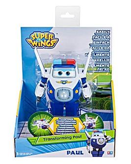 Super Wings Transforming Paul