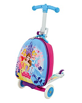 Disney Princess 3-in-1 Scootin Suitcase