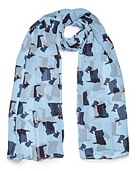 Scottie Dog Scarf
