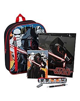 Star Wars Episode 7 Filled Backpack Set