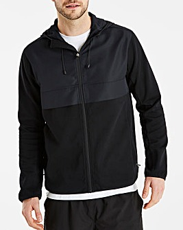 Snowdonia Woven Panel Active Tech Hoody Long