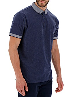 Spot Polo Shirt Long