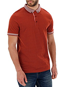 Spot Polo Shirt Long
