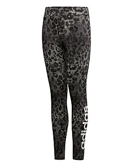 adidas Youth Girls Print Tight