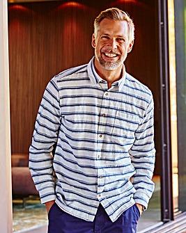 WILLIAMS & BROWN Long Sleeve Stripe Shirt