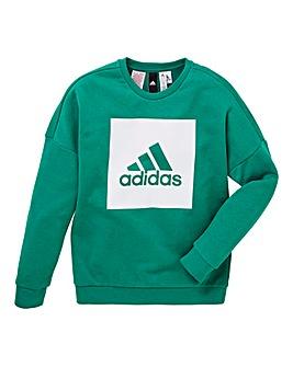 adidas Youth Boy Logo Crew Tee