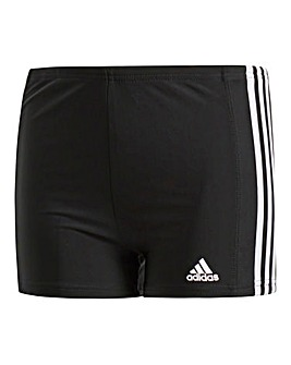 adidas Boys 3-Stripes Swim Shorts