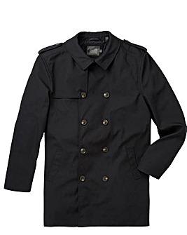 W&B London Black Raincoat