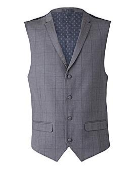 W&B London Check Waistcoat Regular