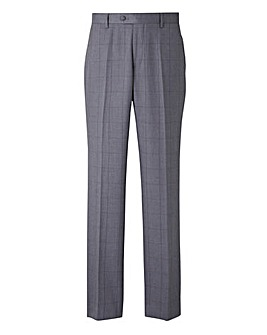 W&B London Check Suit Trousers Slim 31in