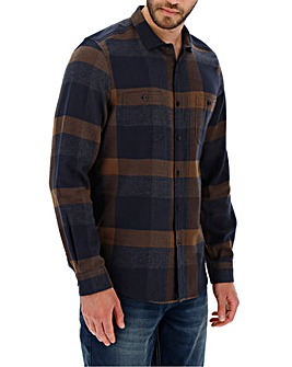 Toffee Flannel Checked Shirt