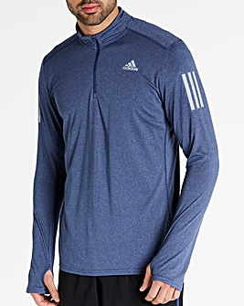 adidas Long Sleeves Zip Top