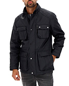 Black Waxed Jacket