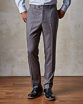 WILLIAMS & BROWN LONDON Check Suit Trousers 29in