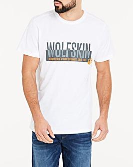 Jack Wolfskin Slogan Logo T-Shirt