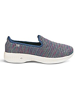 Skechers Go Walk 4 Standard Fit Trainers