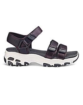 Skechers D'Lites Fresh Catch Sandals