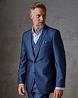 Blue Suit Jacket Long